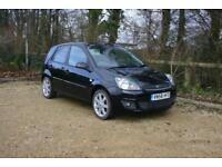 FORD FIESTA 1.2 Zetec Blue done 78693 Miles with SERVICE HISTORY and NEW MOT
