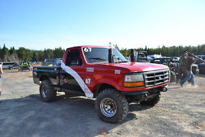 Race Truck,Rally Truck, BFG Off Road and Enclosed Trailer