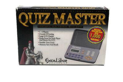 Excalibur Quiz Master Game Never Used
