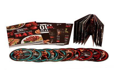 BRAND NEW Shaun T's Insanity Max:30 minutes (13-DVD Set) IN BOX IM01