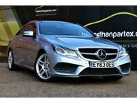 2013 Mercedes-Benz E-CLASS 2.1 E220 CDI AMG SPORT AUTOMATIC SAT NAV 2d 170 BHP C