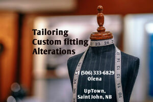 Wedding dresses custom fitting and alteration