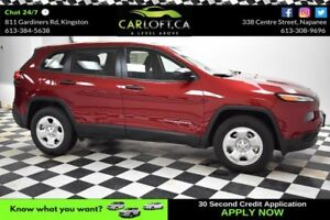 2017 Jeep Cherokee SPORT 4X4- BLUETOOTH*CRUISE*A/C