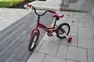 "Vélo Louis Garneau fille 14"""