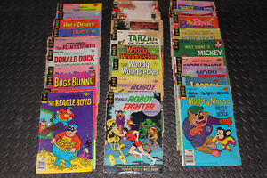 Gold Key Comic lot – 1960s and 70s (33 issues) – Lot de 33 BD