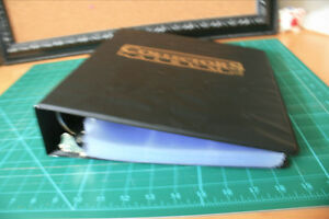 Card Collector Binder/Album with 85 Protective Sheets
