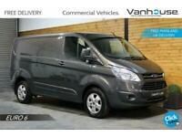 2017 Ford Transit Custom 2.0 TDCi 270 Limited L1 H1 5dr Panel Van Diesel Manual