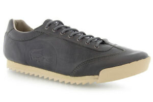 Brand New - Lacoste Raydon Shoes - Grey Leather - Size 9