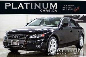 2009 Audi A4 2.0 T/ QUATTRO/ LEATHER/ SUNROOF/ CLEAN CARPROOF