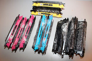 10 used TONER cartridges for BROTHER laser printers