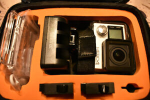 GOPRO HERO 4 SILVER ACTION CAMERA AND EXTRAS