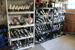 Lots of ice skates, better priced than Play It Again Sports