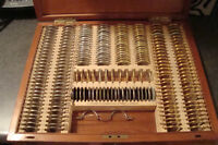 Vintage Optometrists Lens Fitting Case!