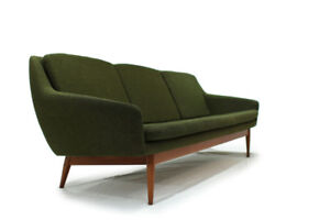 Mid Century Modern Teak Couch Made in Norway