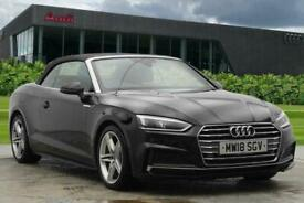 image for 2018 Audi A5 Cabriolet S line 2.0 TFSI  190 PS 6-speed Convertible Petrol Manual
