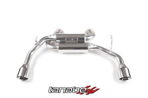 Tanabe Medalion Touring Axle Back Exhaust for 2014-2016 Infiniti