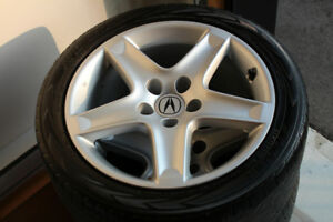 4 Mags ACURA TL 5X114.3, 17