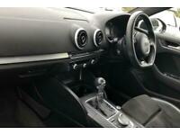 2016 Audi A3 2.0 TDI S Line 3dr S Tronic [Nav] Auto Hatchback Diesel Automatic
