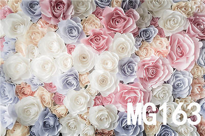 Rose thin Vinyl Backdrop Photograph background CP studio Photo Prop 7X5FT MG163