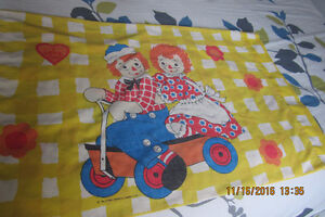 Vintage Raggedy Ann And Andy Pillowcase London Ontario image 2