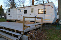 QUAD bunks Edgewater by Sunnybrook Excellent shape