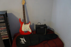 Peavey Raptor EXP Electric Guitar With Amp and Soft Case