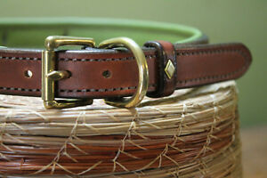 HANDMADE CUSTOM LEATHER DOG COLLARS,LEASHES, BELTS & HARNESS Peterborough Peterborough Area image 3