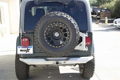 Crawler Conceptz Ultra Series Rear Bumper w/ Hitch 97-06 Jeep Wrangler TJ LJ for sale  Shipping to South Africa