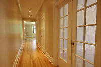Fully Renovated Three br's/Two bathr's in the Heart of Westmount
