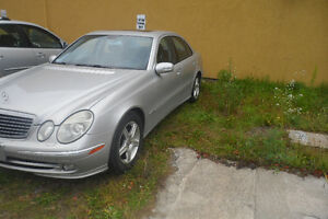 2003 Mercedes-Benz E-Class E500 Sedan