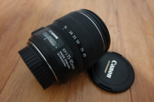 Canon 15-85mm IS USM Lens (Like new)