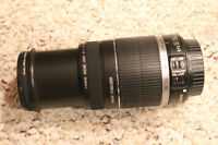 EF-S 55-250mm f/4-5.6 IS with filter