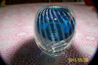Signed Glass Paper Weight
