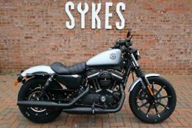 NEW 2020 Harley-Davidson XL883N Sportster Iron in Silver