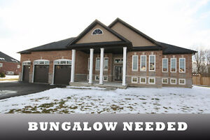 We are looking to buy a bungalow in Barrie