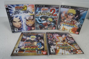 For Sale: Ps3 Naruto Games
