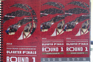Game 7 Raps vs Pacers Sunday May 1- Lower bowl Sec 114