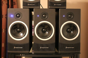 Digidesign/PMC speakers(x5), Pre/Pro, Pro DVD player, Tannoy sub