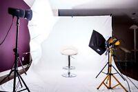 photographe de studio et mariage