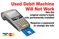 Used Debit Machine BANK ACCOUNT CHANGED