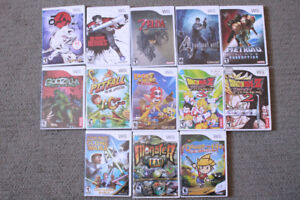 WII GAME LOT (13 Games)