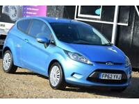 2012 Ford Fiesta 1.4 EDGE TDCI 3D 69 BHP + FREE DELIVERY + FREE 3 YEAR WARRANTY