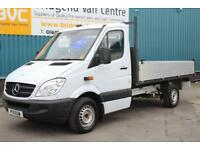 2011 MERCEDES SPRINTER 313 2.1 CDI 136 BHP MWB 11 FOOT DIESEL AUTOMATIC TIPPER,