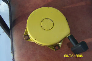 PARTS WANTED FOR OLDER JOHN DEERE SNOW BLOWER