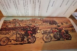 1969 1st Edition EASY RIDER Play Screen Novel (VIEW OTHER ADS)