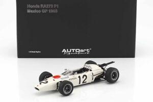 1/18 AUTOART DIECAST Honda RA272 F1 Grd Prix Mexico 1965 Bucknum