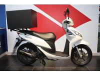 2012 61 HONDA NSC 110 VISION, WHITE, PIZZA DELIVERY SCOOTER!
