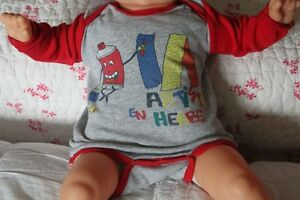 DP...am long sleeve bodysuit 3 Months - French Brand - I Ship