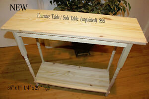 Sofa Table / Entrance table / kitchen stand - NEW -