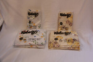 Vintage WABASSO(NEW) still in package TWIN SET Plus Pillow Cases
